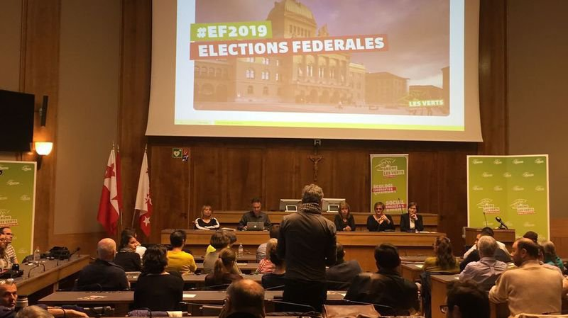 La campagne est lancée pour les Verts valaisans qui visent leur premier siège au Conseil national