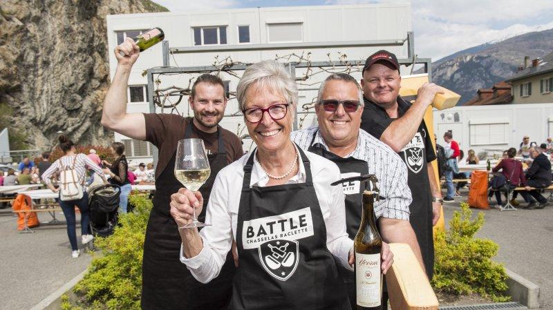 Battle Chasselas & Raclette: le Valais vainqueur toutes catégories