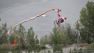 Chute d'un hélicoptère dans un plan d'eau à Rarogne: les causes sont connues