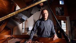 Jazz, peinture et vin: un coffret et deux concerts spéciaux pour Moncef Genoud