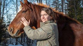 Ces métiers insolites pour nos animaux: Stéphanie l'ostéopathe