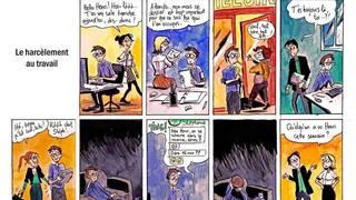 Valais: une BD pour briser les clichés sur le harcèlement au travail