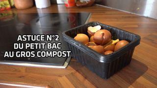 Valais: les astuces de la famille Moret pour économiser les sacs taxés: deuxième épisode, du petit bac au gros compost