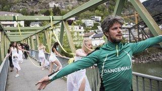 La Dancewalk «Brig Naters à moi» a trouvé son public