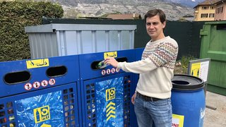 Grône: six nouveaux containers permettent de relancer le recyclage du PET