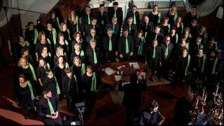 Saint-Maurice: cent chanteurs et musiciens sur scène au profit des skieurs aveugles et malvoyants