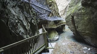 A Vernayaz, les gorges du Trient sont ouvertes au public depuis aujourd'hui
