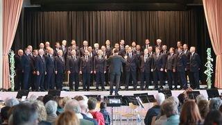 Les chanteurs du Valais central ont fait la fête tout le week-end à Miège