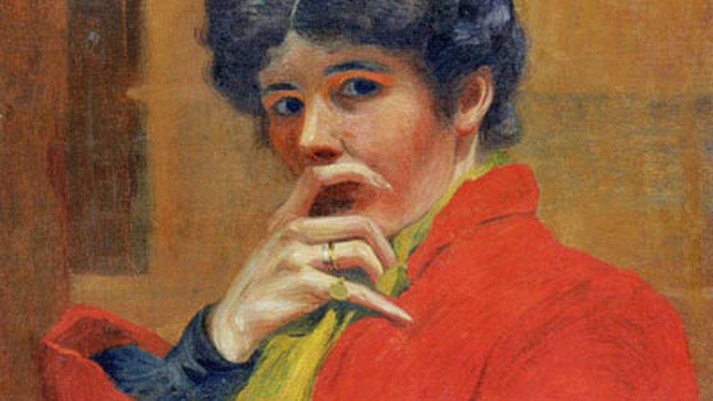 Il faut attendre la fin du XIXe siècle et l'Ecole de Savièse pour découvrir une artiste emblématique: Marguerite Burnat-Provins.