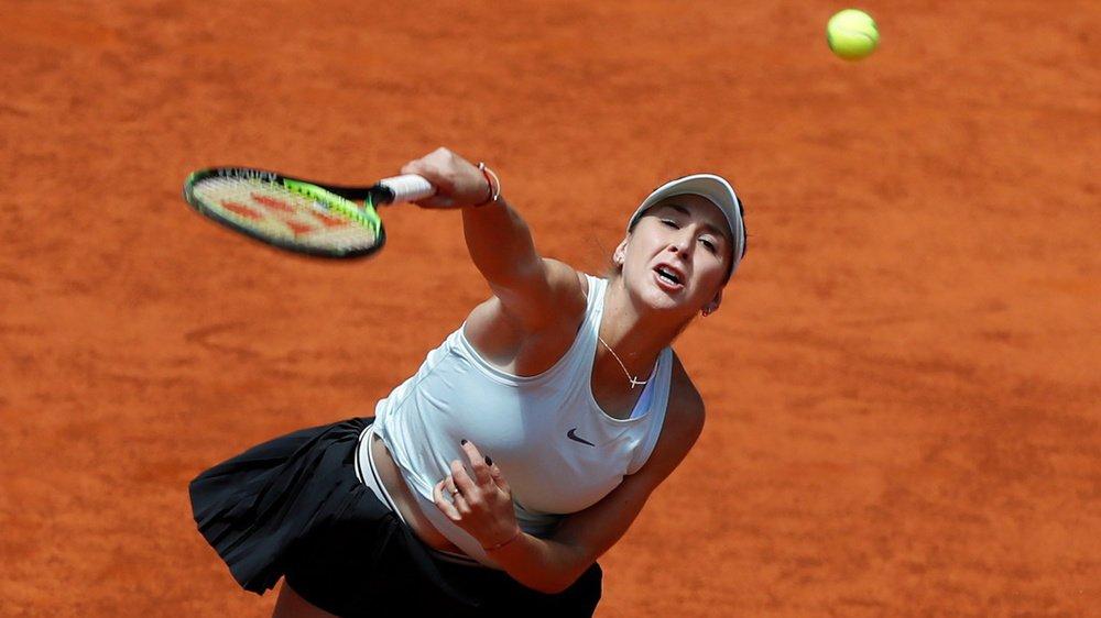 Tennis: Belinda Bencic éliminée du tournoi WTA de Rome