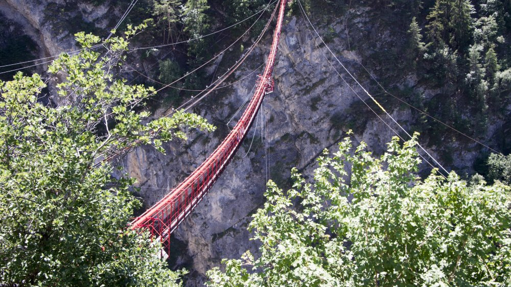 Connu pour son saut à l'élastique, le site du pont suspendu de Niouc pourrait accueillir une via ferrata dès cet été.