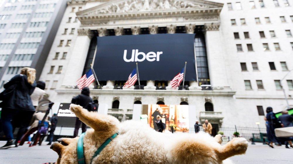 Uber, l'entrée de l'année