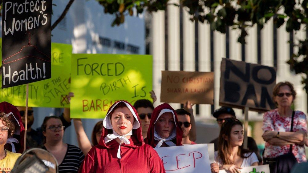 Le droit à l'avortement menacé aux Etats-Unis