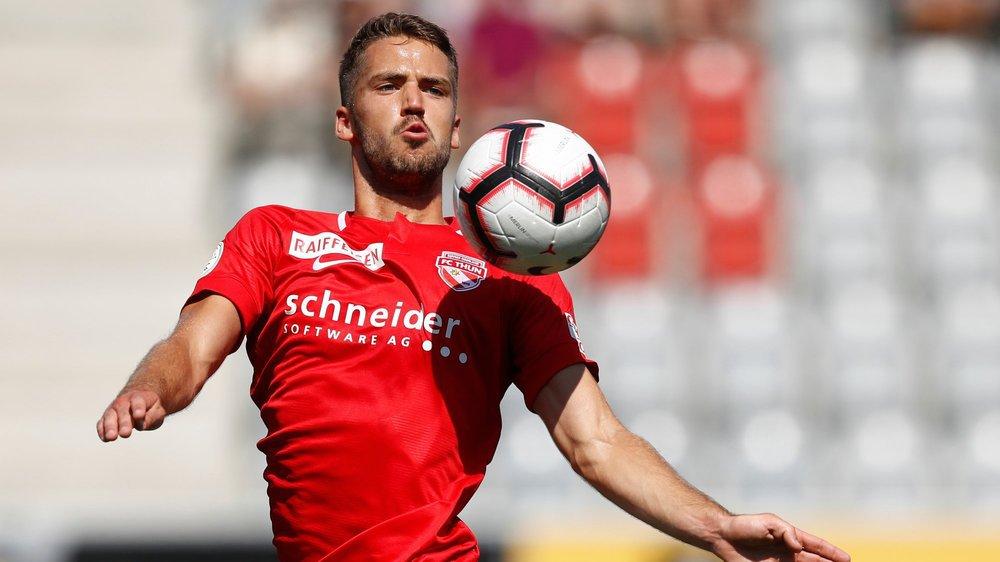 Grégory Karlen jouera une deuxième finale en rouge et blanc, mais sous le maillot du FC Thoune cette fois.