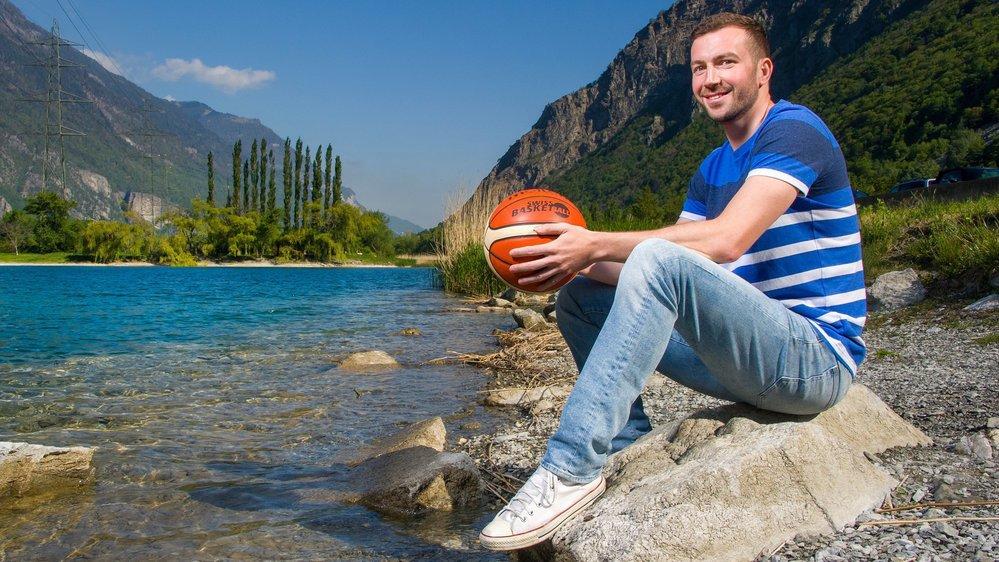 Marin Bavcevic se plaît au bord de l'eau, cela lui rappelle les plages de Split, sa ville natale.