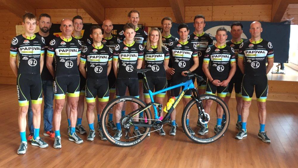 Le Team Papival intègre de plus en plus de jeunes Valaisans.