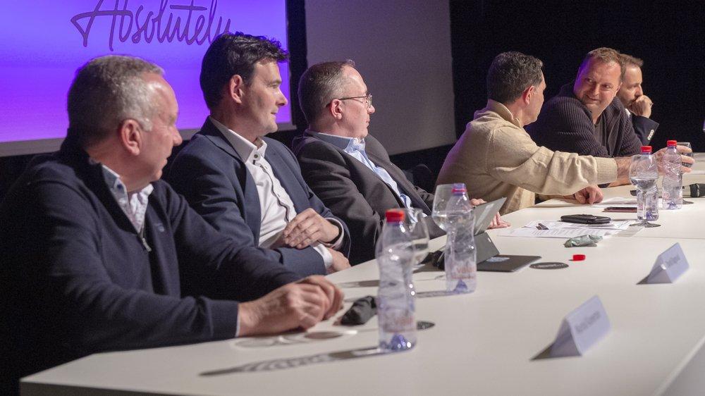 Les présidents des trois communes présentent à nouveau un front désunis face à Philippe Magistretti et Radovan Viteki.