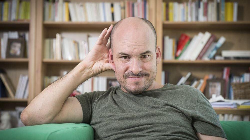 Alexandre Jollien, auteur, philosophe et désormais personnalité du «Petit Robert».