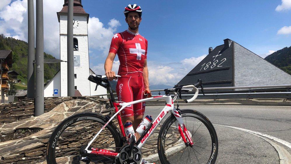 Le Chorgue Steve Morabito s'active pour faire vivre le vélo dans sa vallée d'origine.