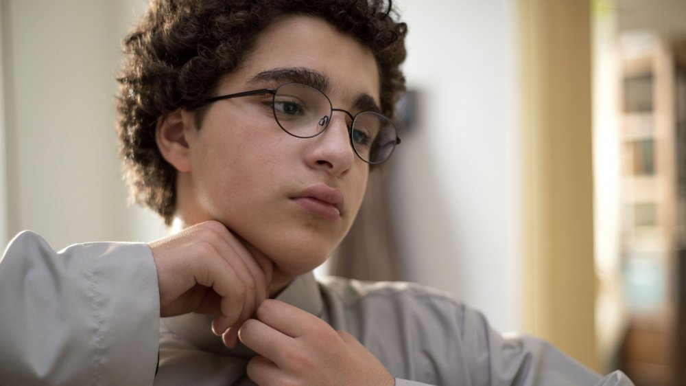 Ahmed (Idir Ben Adi) est prêt à tuer sa professeure.