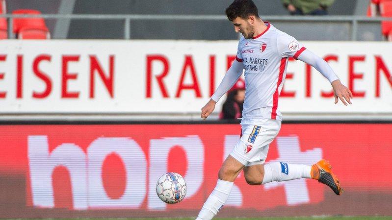 Anto Grgic portera le maillot sédunois jusqu'en 2022.
