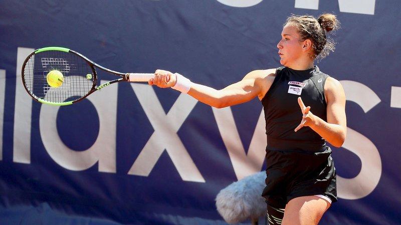 Ylena In-Albon a été éliminée au premier tour des qualifications à Roland-Garros.