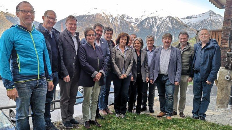 Les montagnards du Haut et du Valais romand se rapprochent