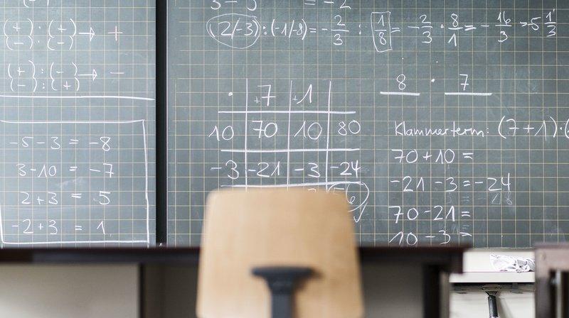 Les résultats de l'étude de la Conférence des directeurs cantonaux de l'instruction publique révèlent de grandes disparités entre les cantons pour les mathématiques. (Illustration)