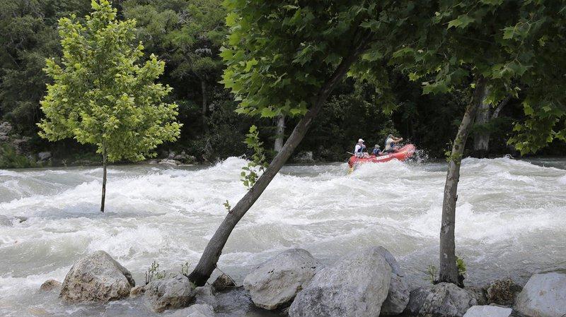 Etats-Unis: un barrage s'écroule sous la pression de l'eau