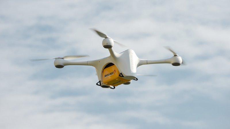 La Poste: un drone de transport s'est écrasé à Zurich