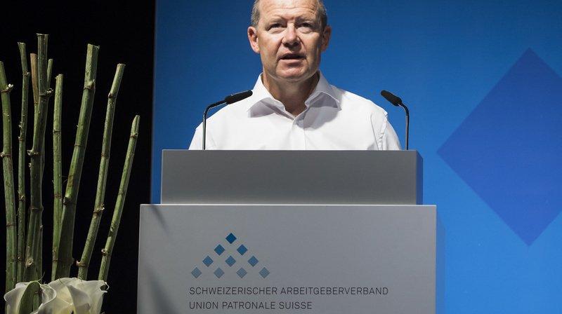 L'Union patronale suisse veut relever l'âge de la retraite pour financer l'AVS. (Archives)