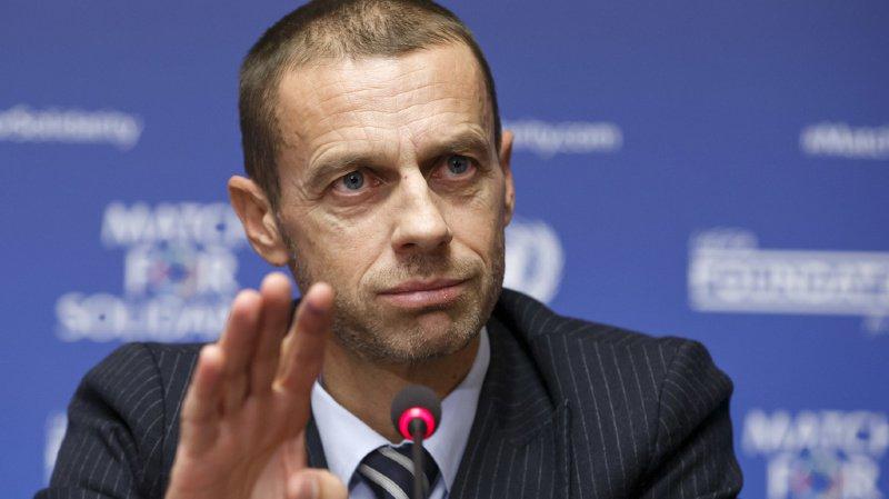 """Football: l'UEFA présente un """"projet"""" sur la réforme des coupes d'Europe qui fait débat"""