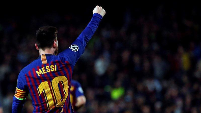 Leo Messi domine toujours le football européen.