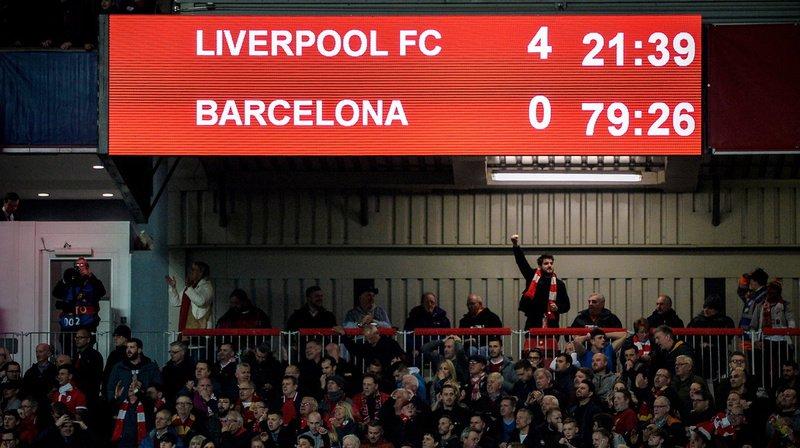 """Football - Ligue des champions: la presse espagnole consternée par le """"ridicule"""" du Barça"""