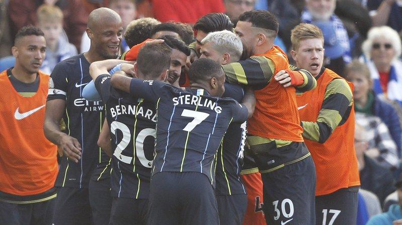 Football - Angleterre: Manchester City remporte la Premier League pour la 2e année de suite