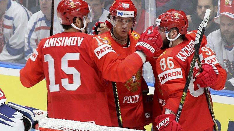 Hockey – Mondiaux 2019: la Russie domine la Tchéquie, les Etats-Unis battent la Finlande