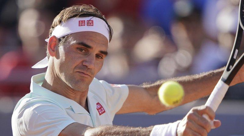 Roger Federer avait très mal commencé son match face à Coric. Mais il a su rester dans la partie.