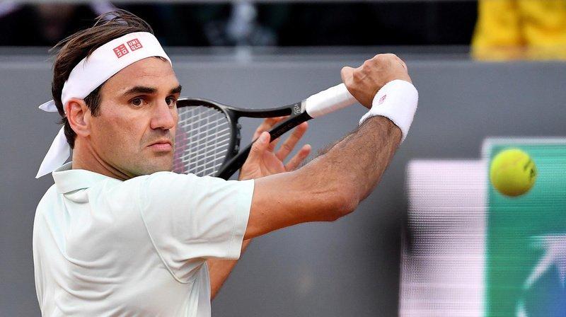 Roger Federer s'est entraîné mardi sur le central de Roland-Garros. (Archives)