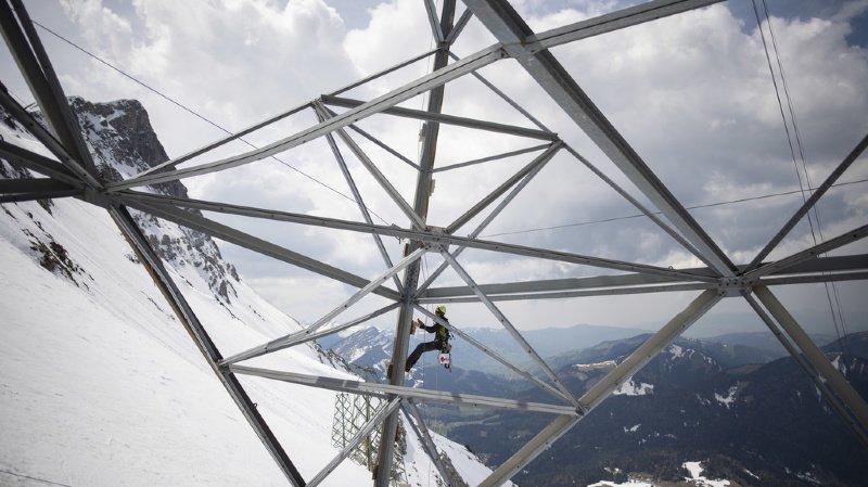 Appenzell: réouverture du téléphérique endommagé par l'avalanche du Säntis