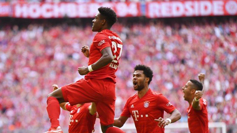 Victorieux 4-1 contre l'Eintracht Francfort, les Bavarois n'ont laissé aucun espoir au Borussia Dortmund.