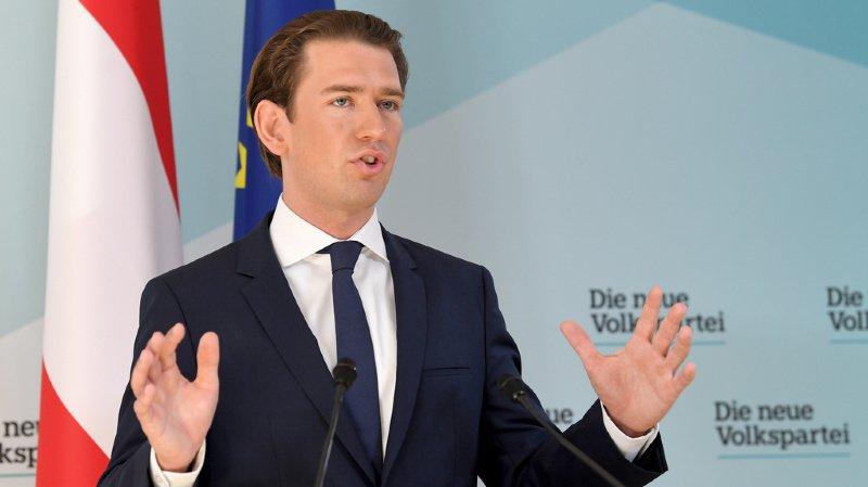 Sebastian Kurz a annoncé lundi la destitution du ministre de l'Intérieur.