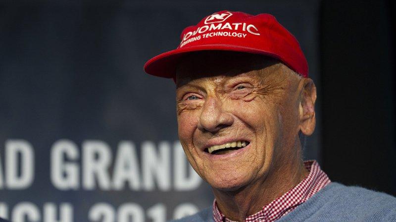 L'ancien champion du monde de F1 Niki Lauda n'est plus