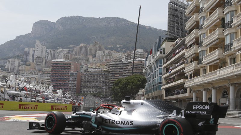 Formule 1: Lewis Hamilton décroche la pole position au Grand Prix de Monaco