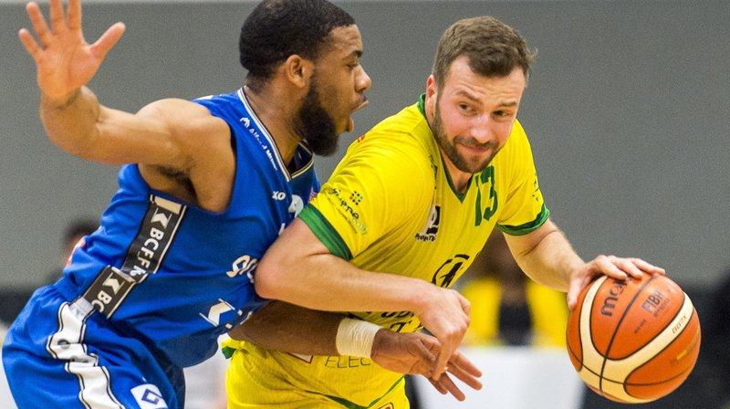 Marin Bavcevic et Monthey se sont battus avec fierté lors de leur ultime partie de la saison.