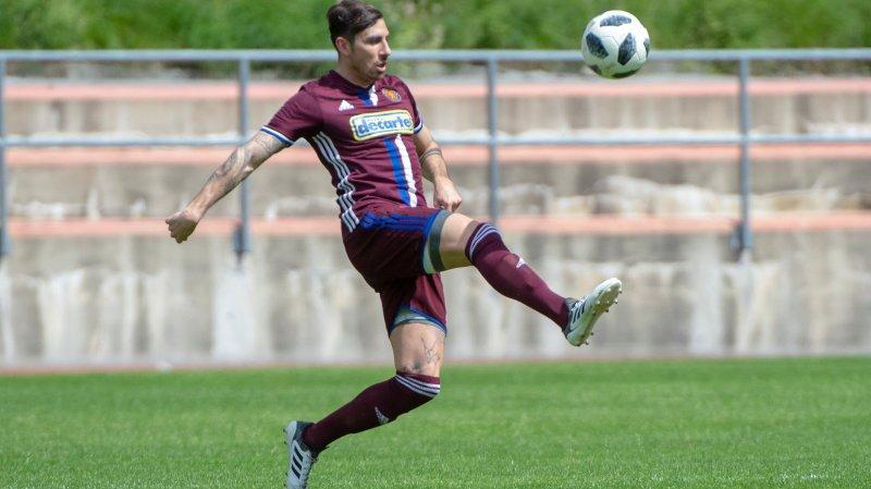 Danick Yerly et le FC Martigny peuvent accéder aux finales de promotion en cas de succès face à Etoile Carouge.