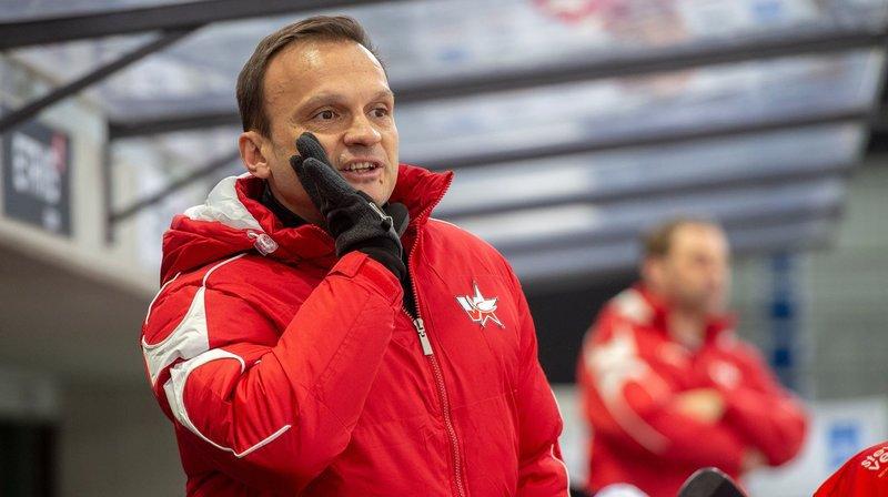 Laurent Perroton, coach du HCV Martigny, restera à la tête de l'équipe octodurienne lors de la saison 2019/2020..
