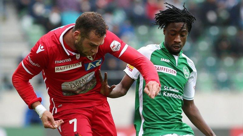 Football: découvrez les notes des joueurs du FC Sion lors du match contre Saint-Gall