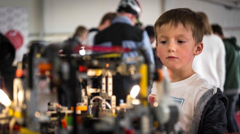 Sion: succès pour Scientastic qui a ouvert les portes du monde numérique aux enfants