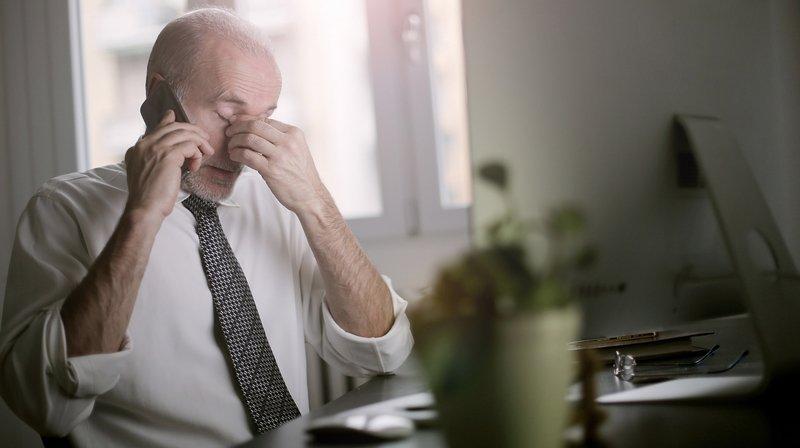 Emploi: en Valais, un actif sur cinq se sent vidé émotionnellement au travail