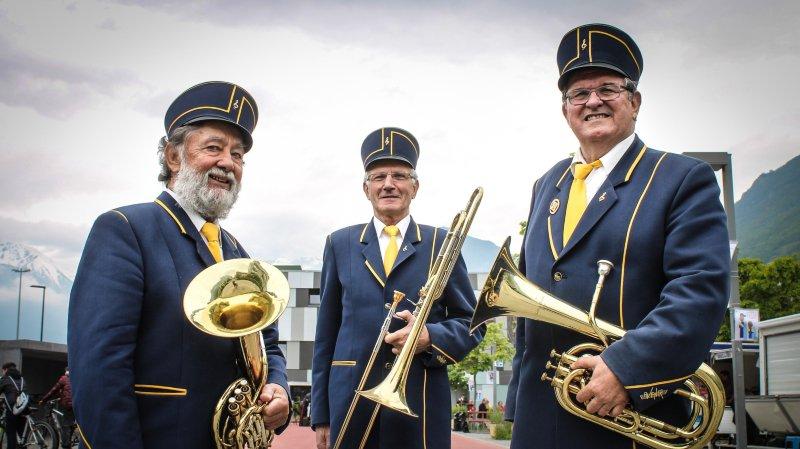 Festival des fanfares PDC: trois Carron pour dire 100 ans d'Avenir de Fully